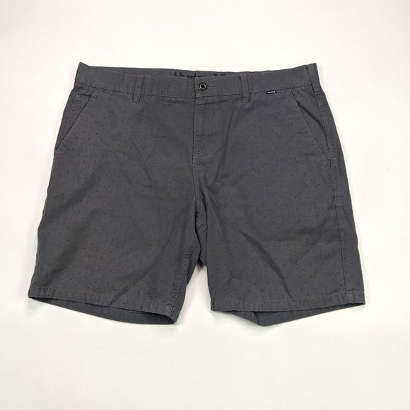 Hurley Other - Hurley Walk Shorts Mens Size 38 Charcoal Gray